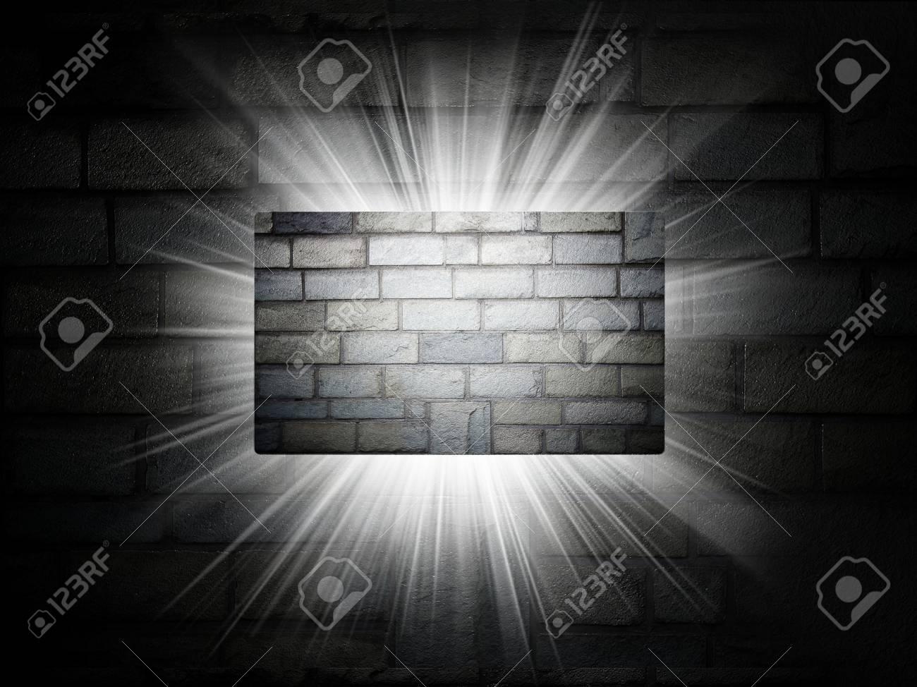 Briques Texture De Carte Visite Prsentation 3d Banque DImages
