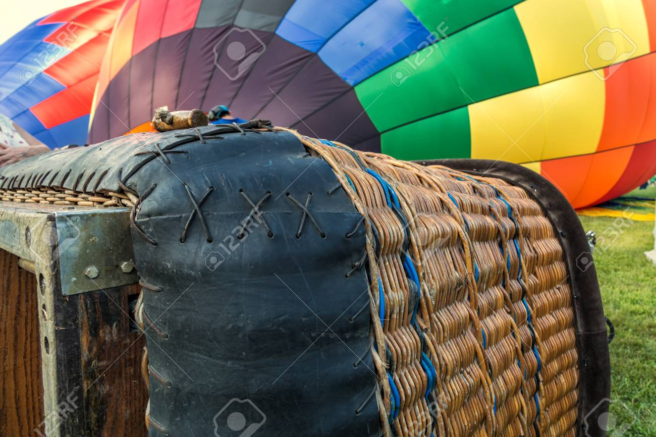 Hot Air Balloon Basket Stock Photo Picture And Royalty Free Image