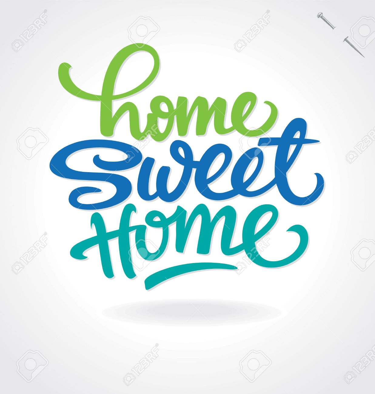 15815 Home Sweet Home Cliparts Stock Vector And Royalty Free