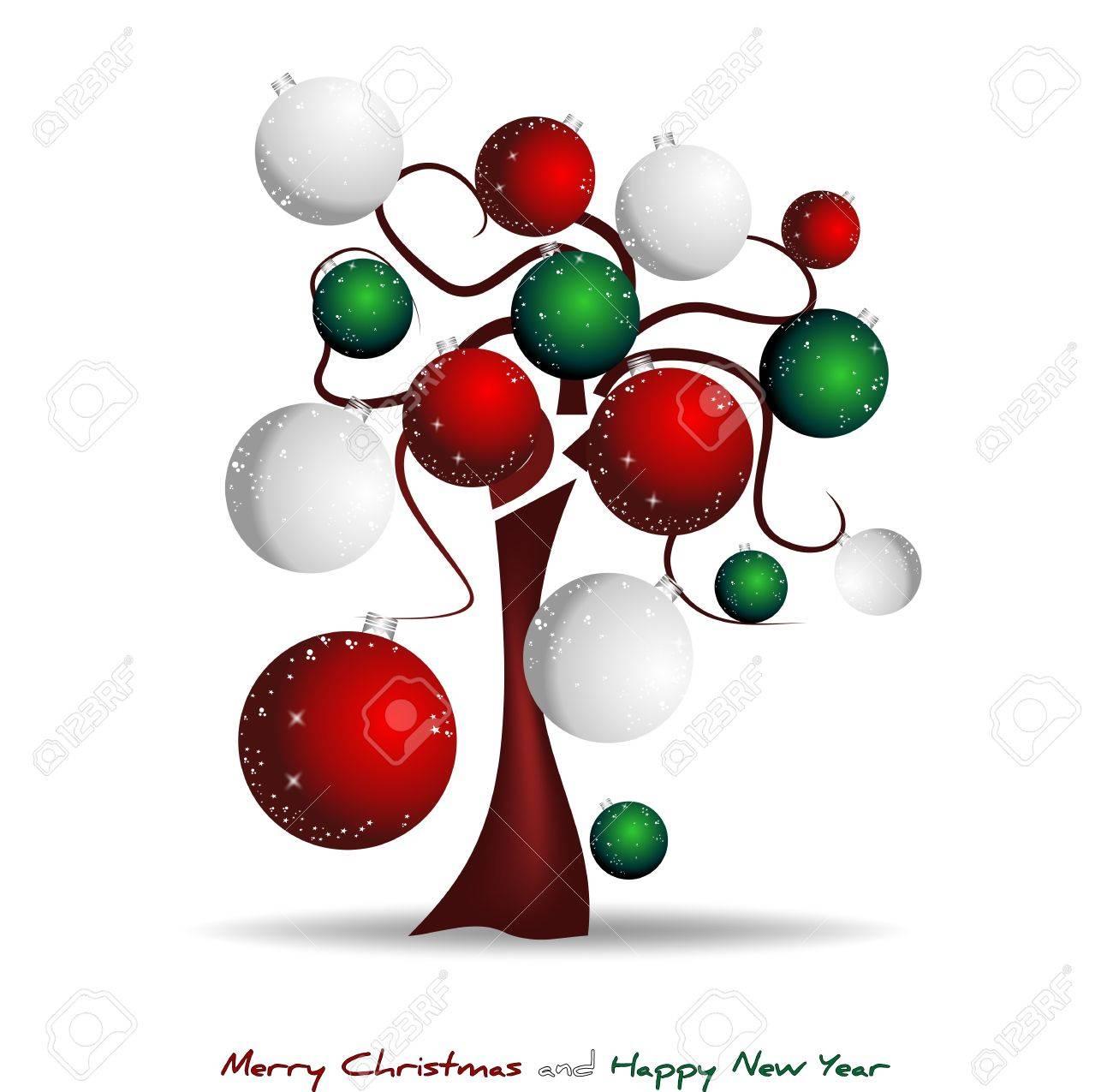 merry christmas italy, 150 years Stock Vector - 11060646