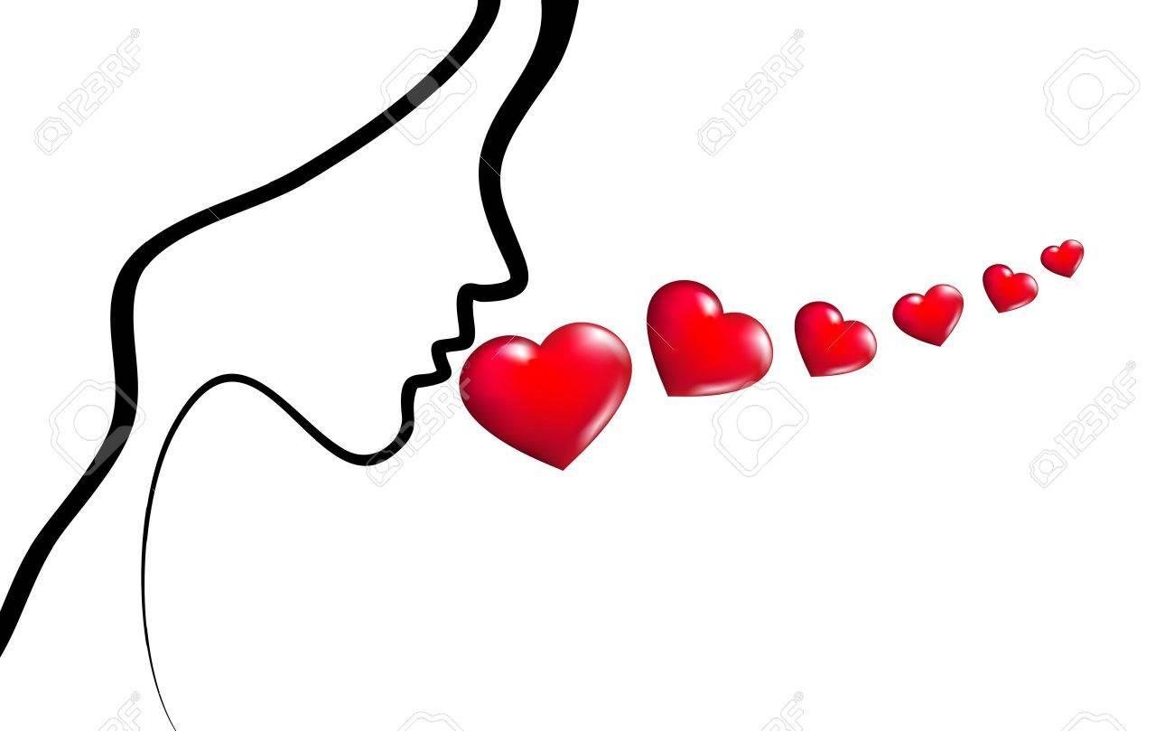 Words of love Stock Vector - 12081526