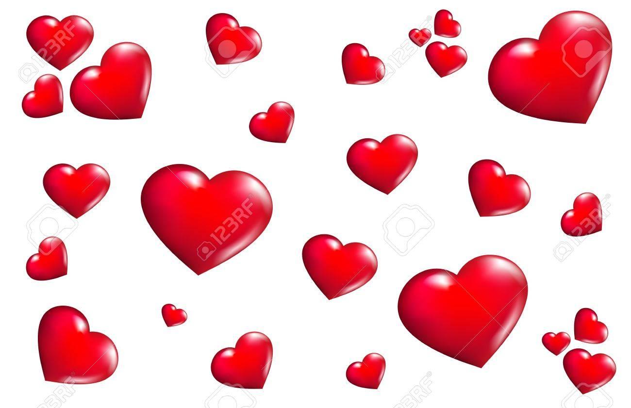Texture hearts Stock Vector - 12748541