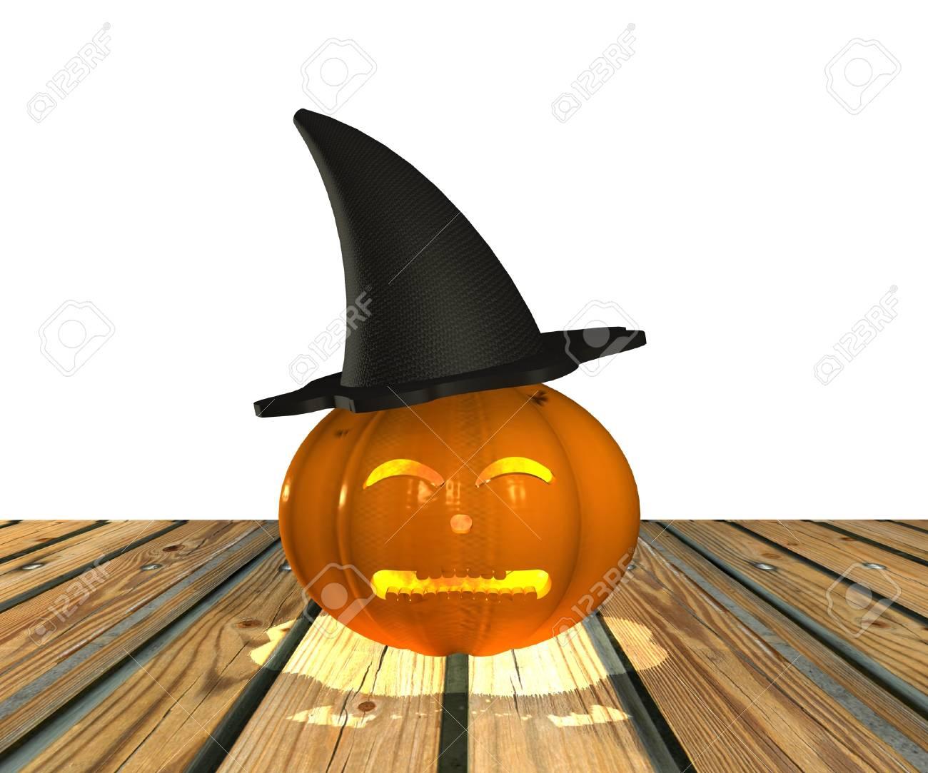 Halloween Pumpkin - 3D Stock Photo - 15148595