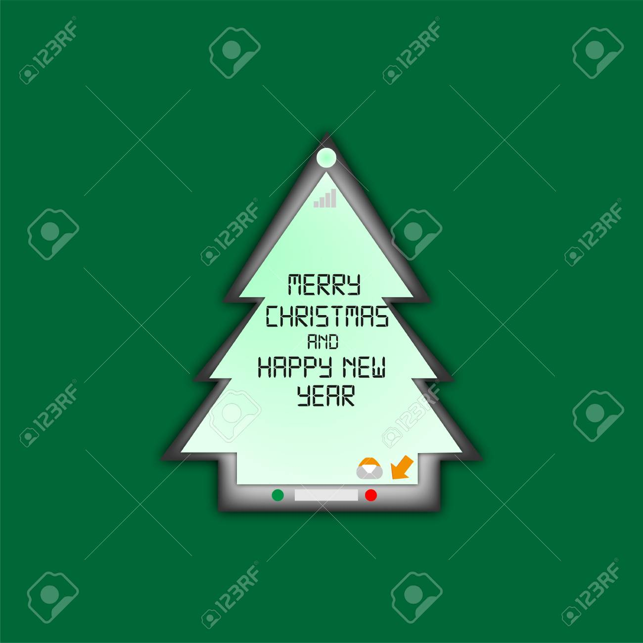 Message telephone greeting merry christmas stock photo picture and message telephone greeting merry christmas stock photo 16494513 m4hsunfo