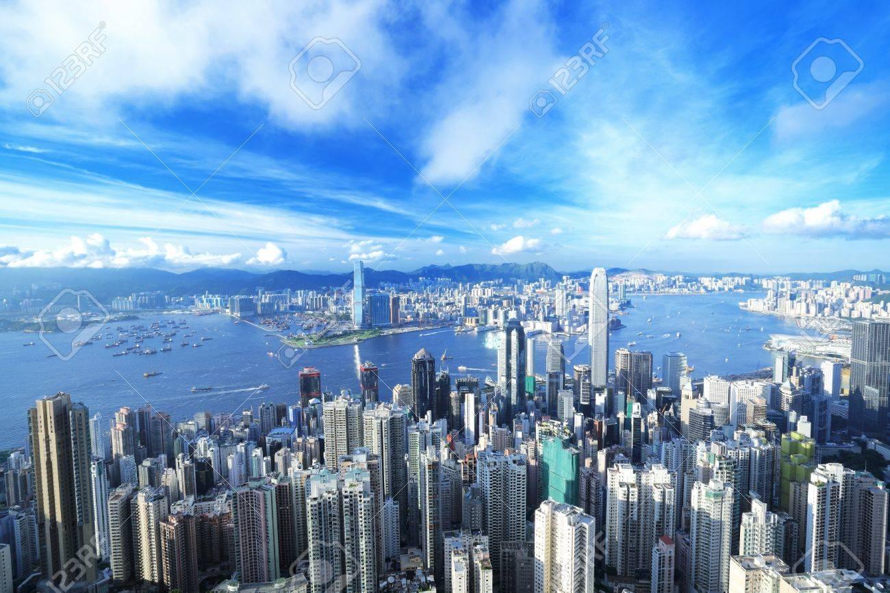 Centro de Hong Kong  Foto de archivo - 7447503