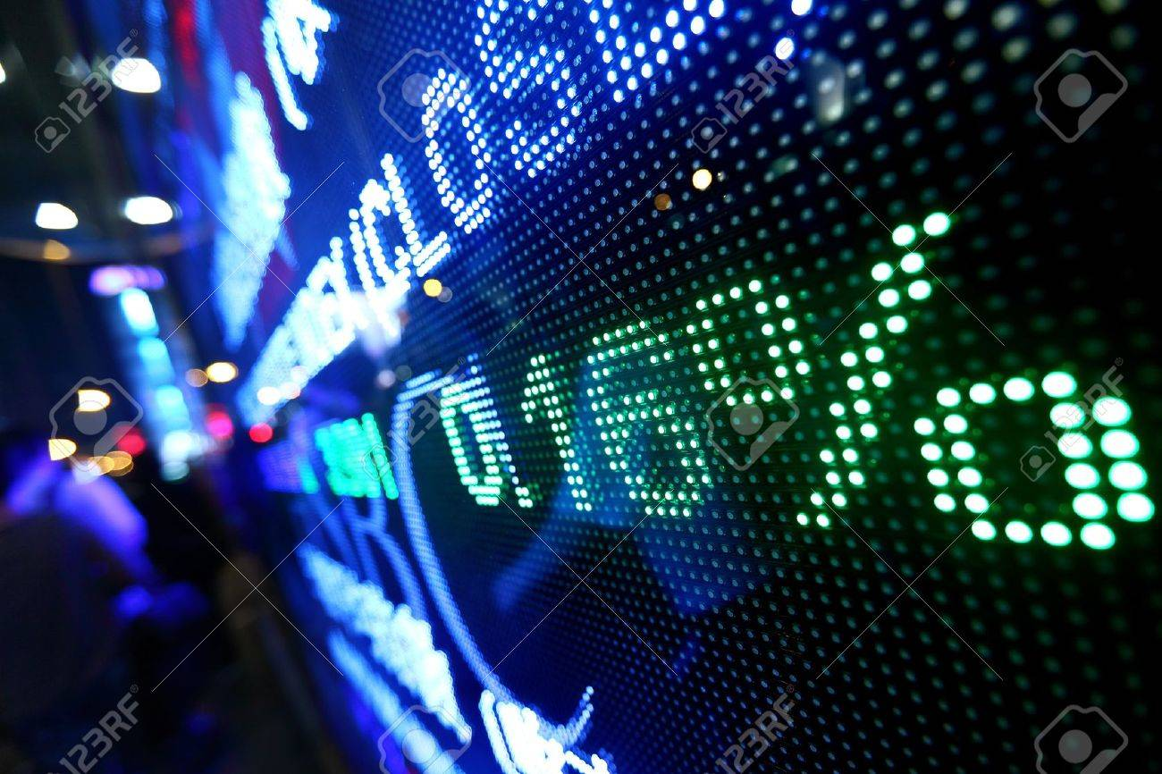 stock market pricing abstract Stock Photo - 11114006