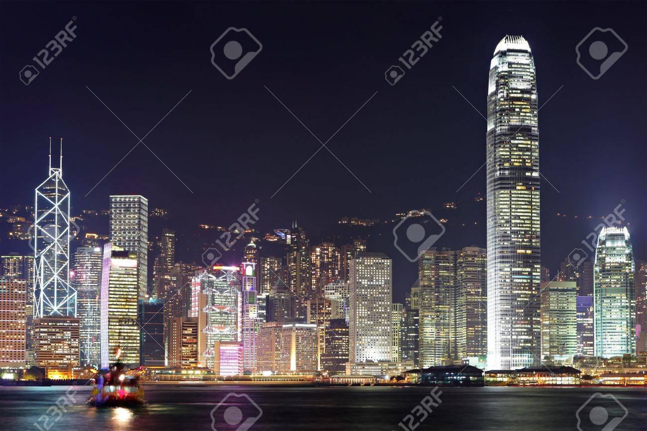 Hong Kong harbor view Stock Photo - 11855992
