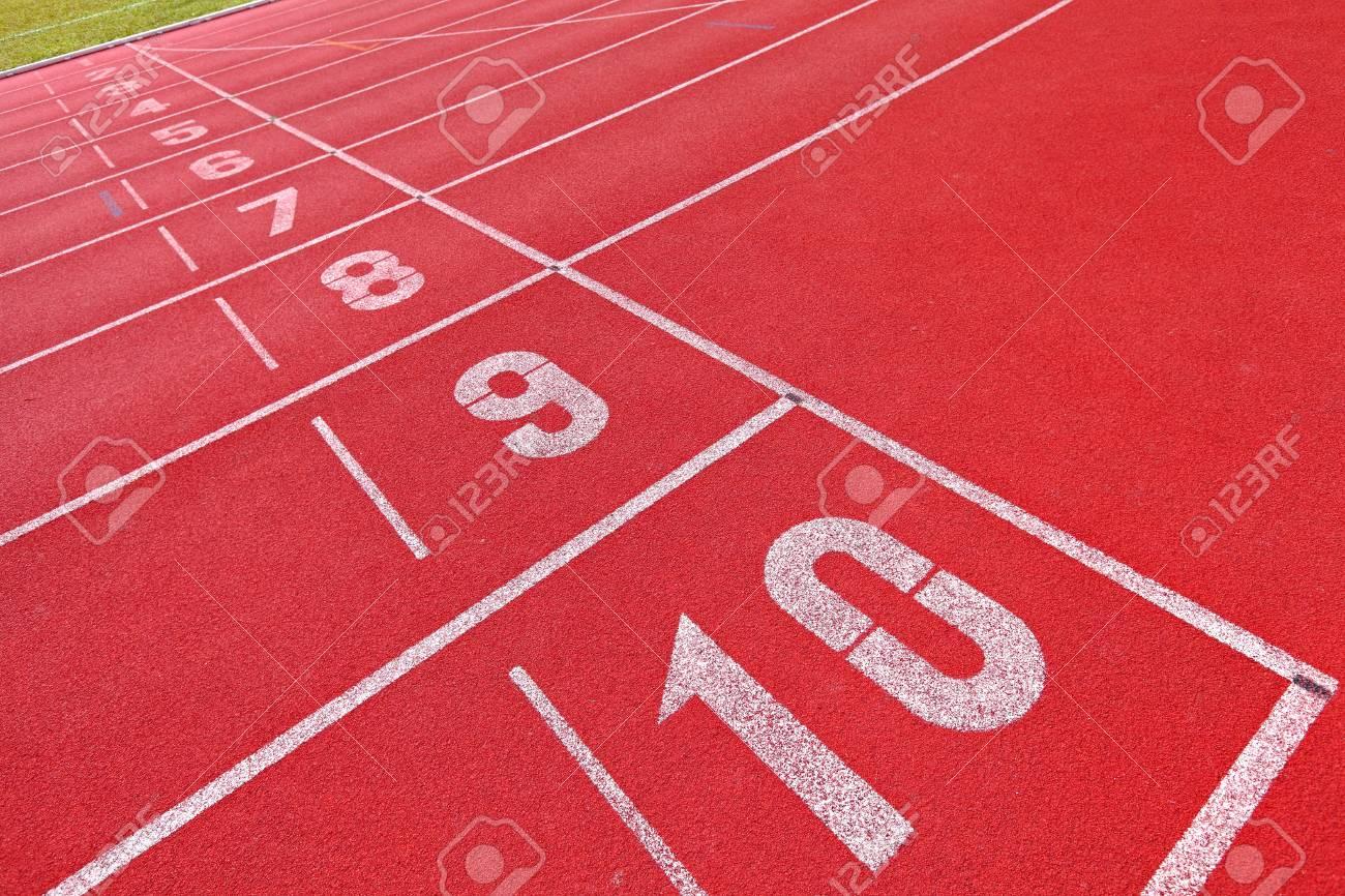 running track Stock Photo - 11926795