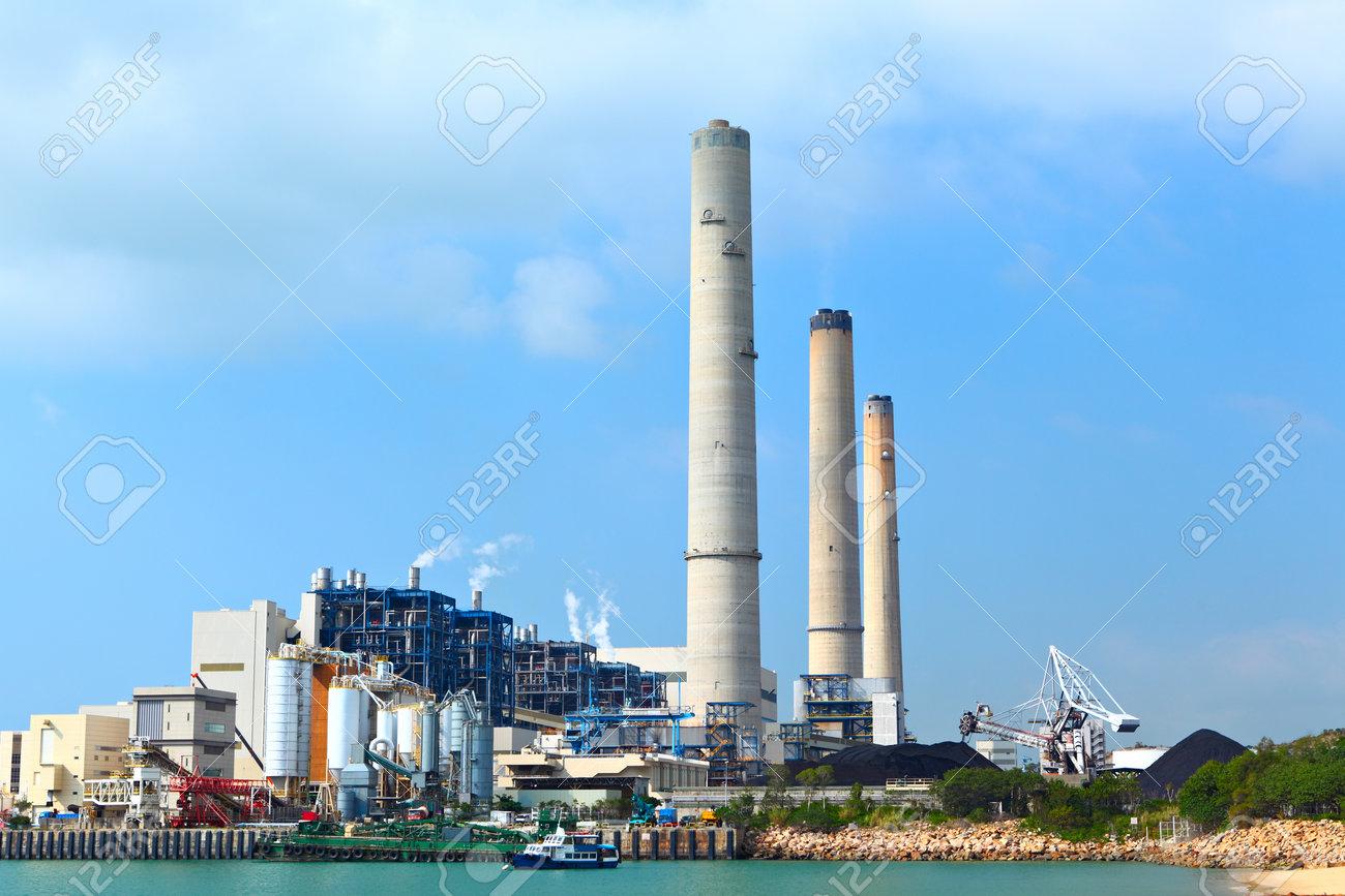 power plant Stock Photo - 12559207