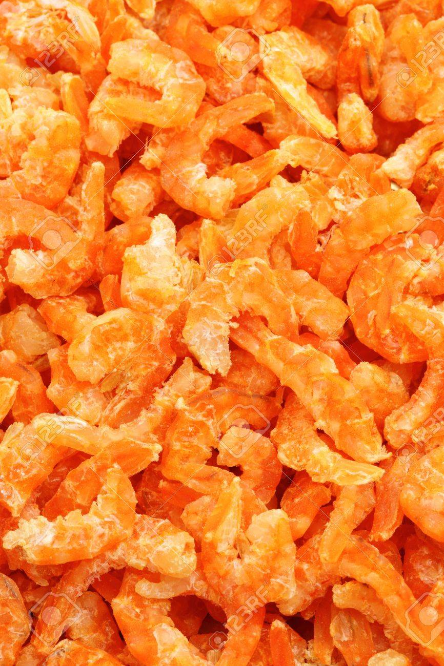 dried shrimp Stock Photo - 18436938