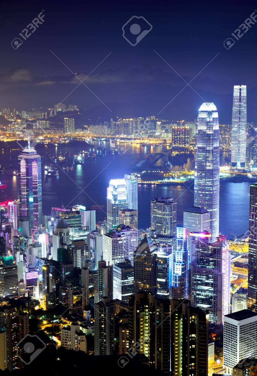 Architecture in Hong Kong Stock Photo - 20207361