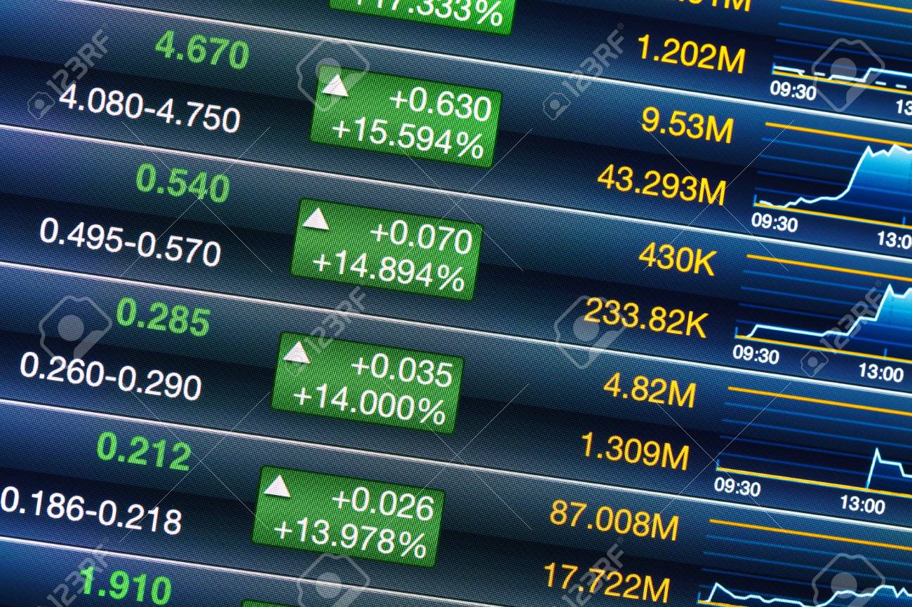 Increases of stock market Stock Photo - 20850088