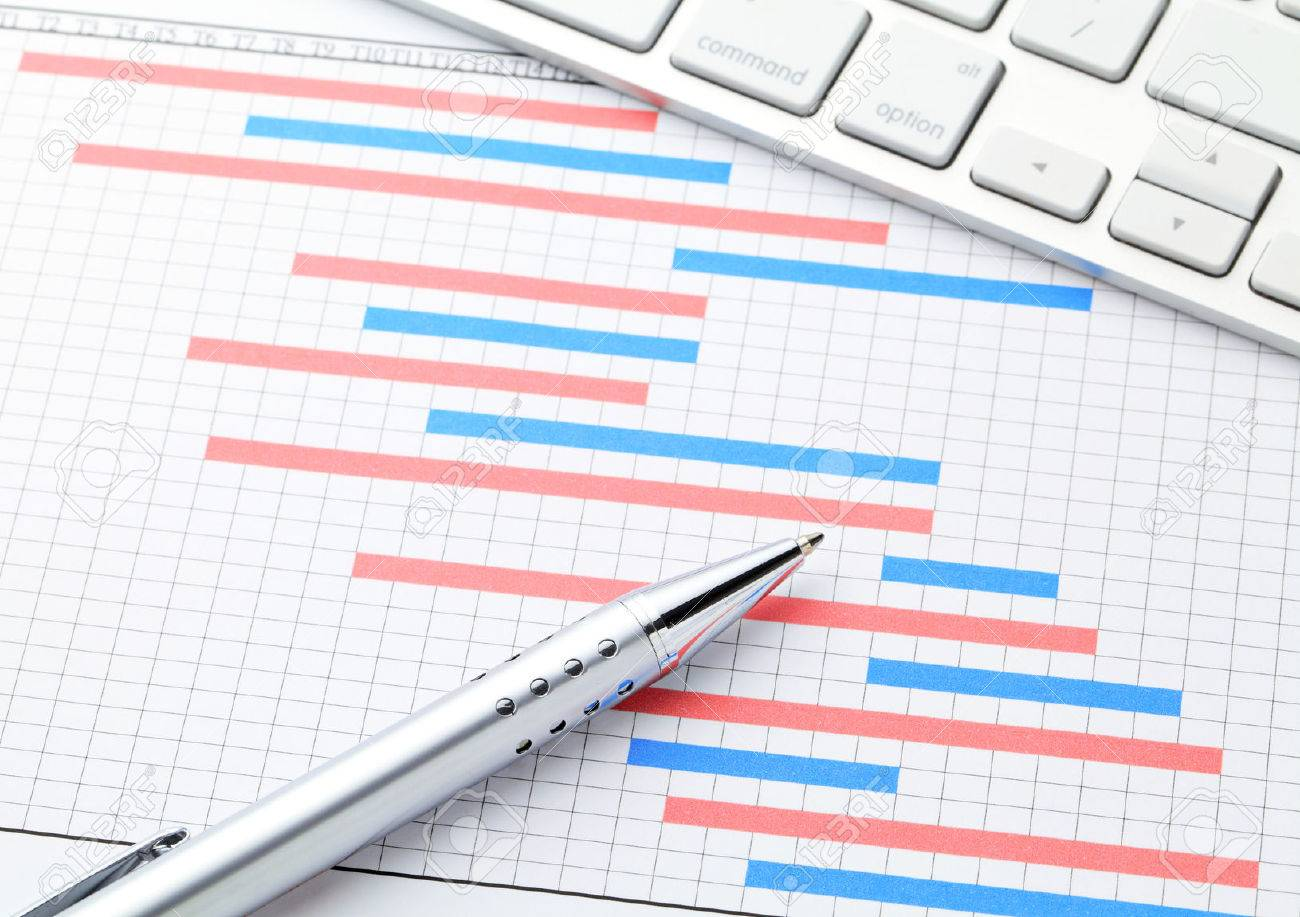 Gantt chart stock photos royalty free business images project management with gantt chart stock photo nvjuhfo Choice Image