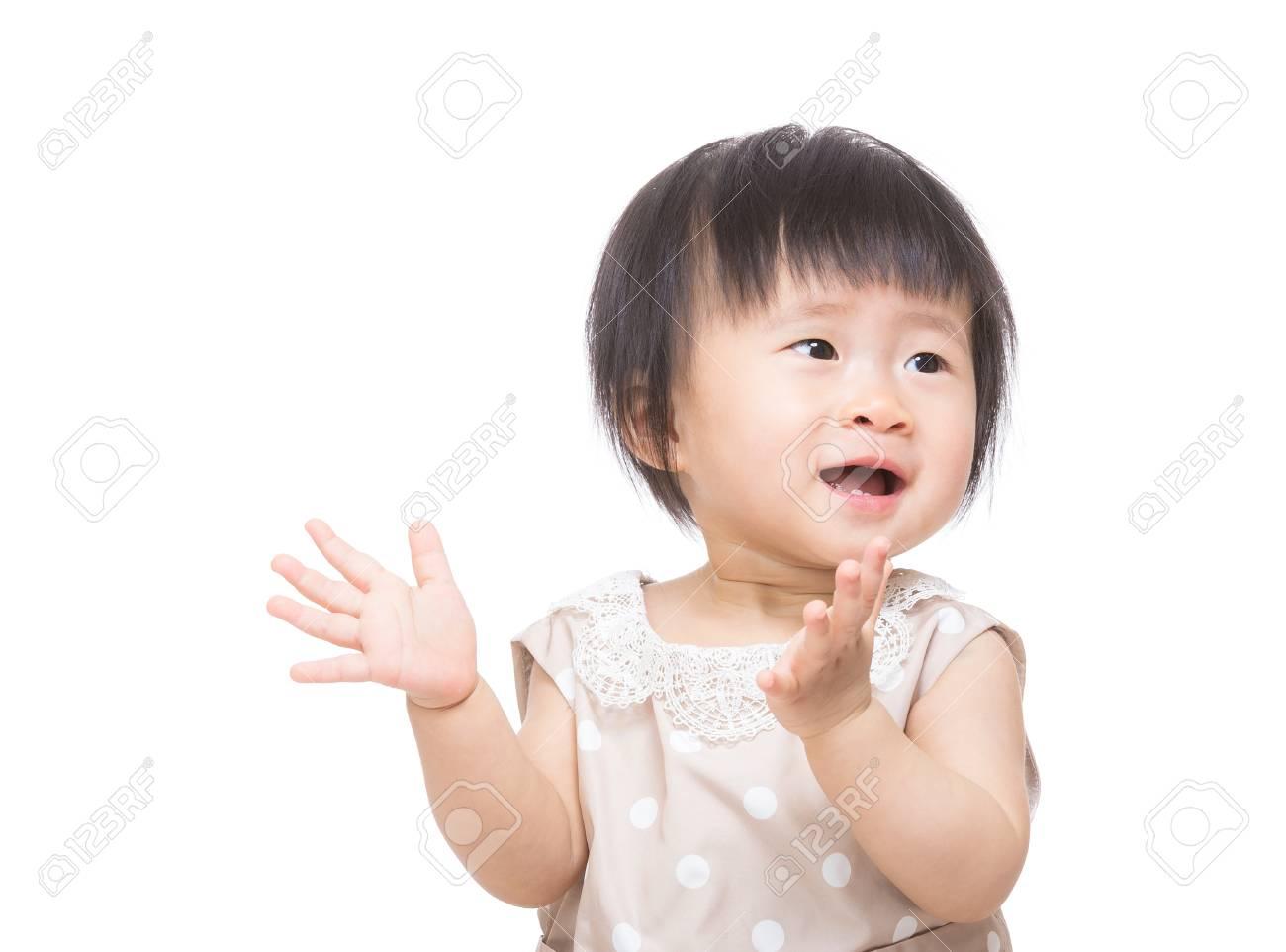 赤ちゃん 拍手
