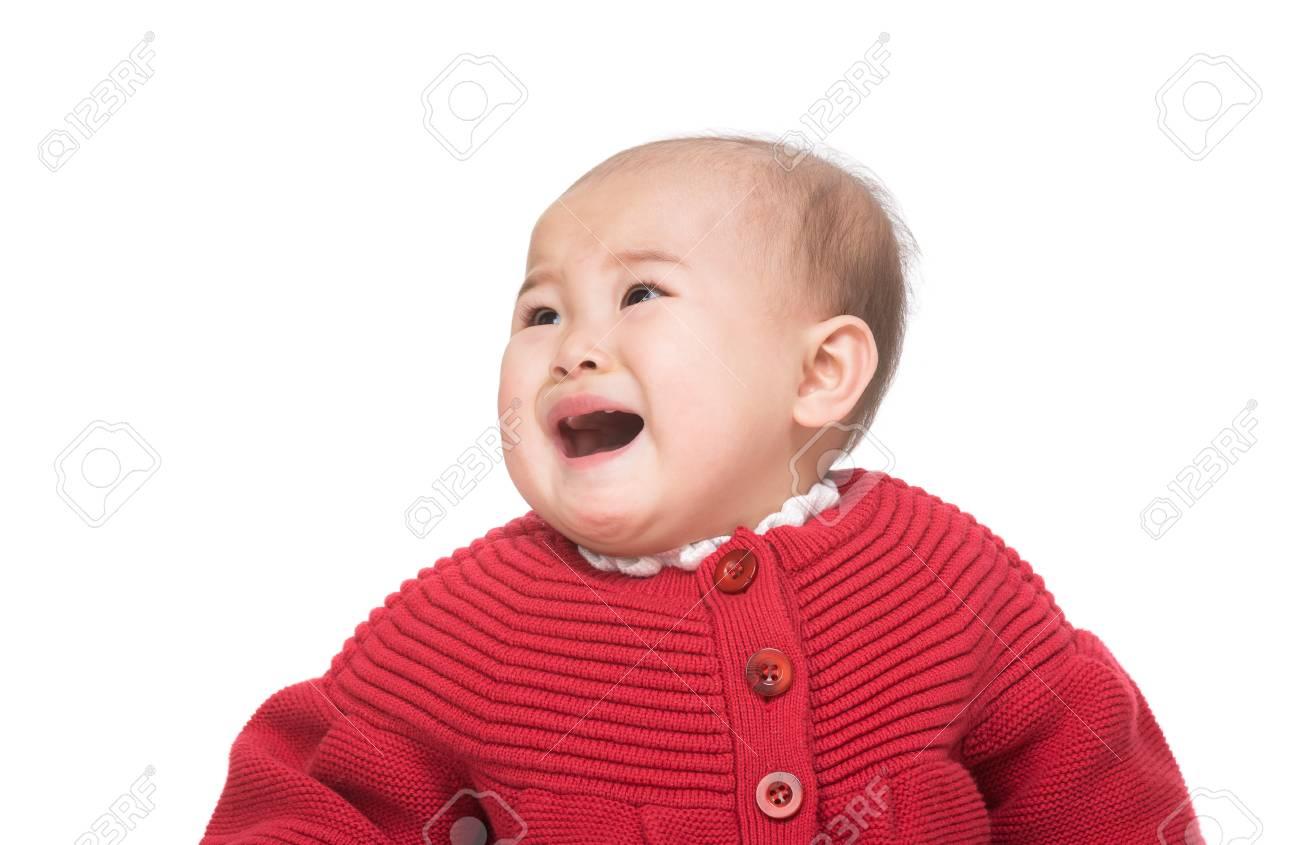 Azië baby meisje huilen royalty vrije foto plaatjes beelden en