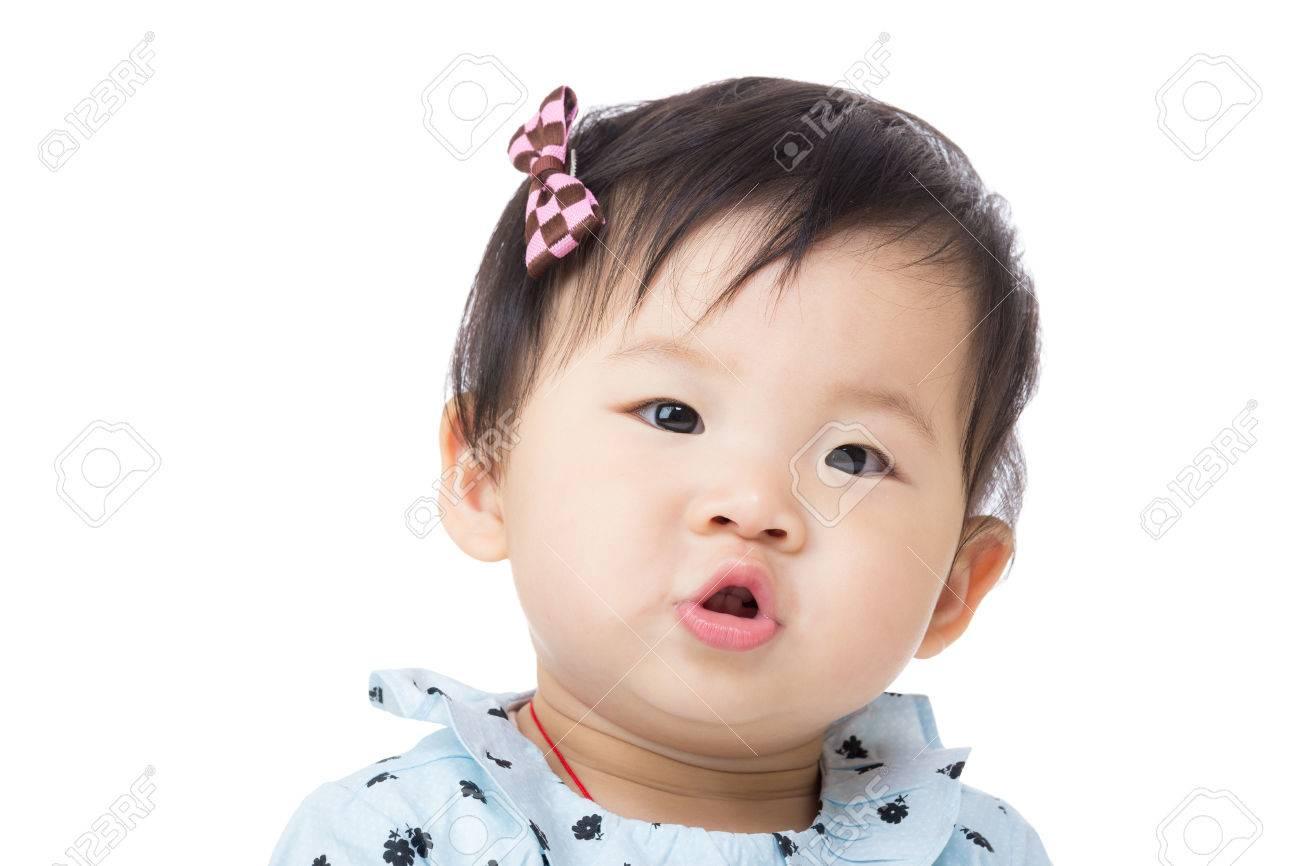 Baby Pouting Lips Asia Baby Girl Pout Lip