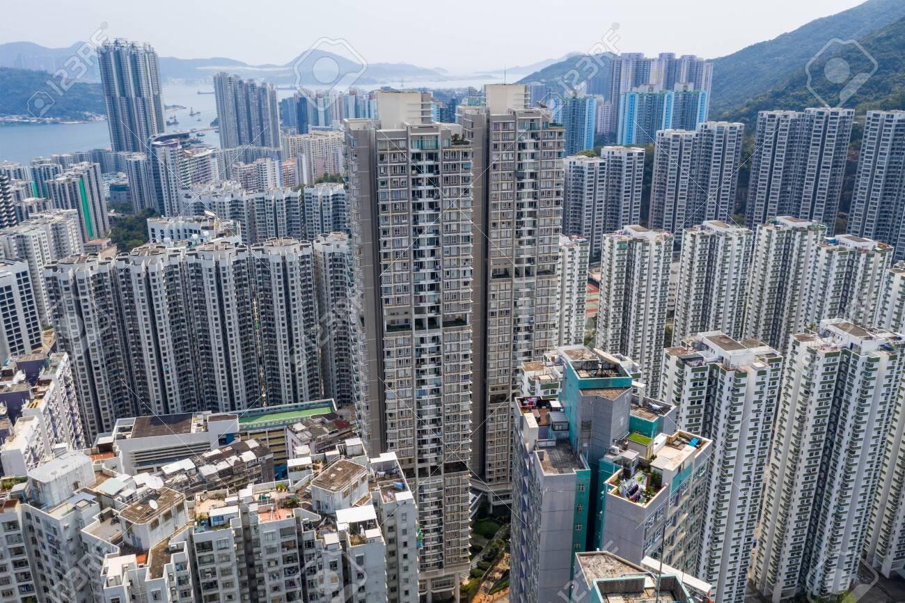 Hong Kong city at day time - 120312973