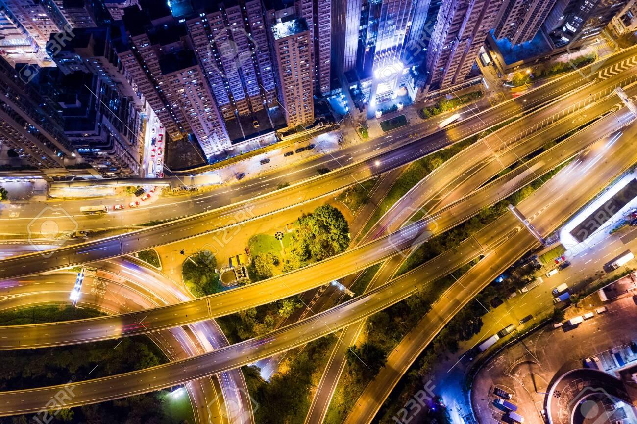 Hong Kong city at night - 120317989