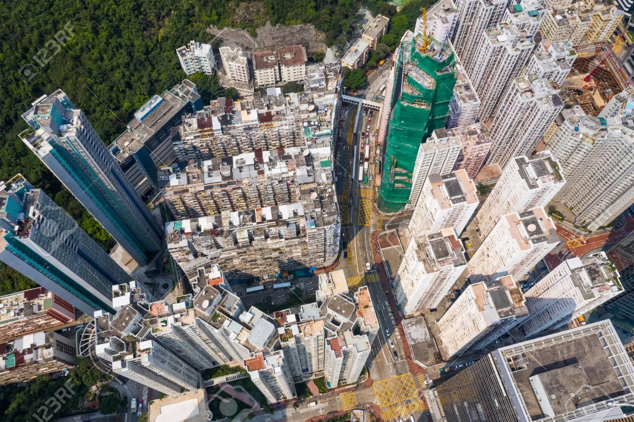 Hong Kong residential district - 120245281
