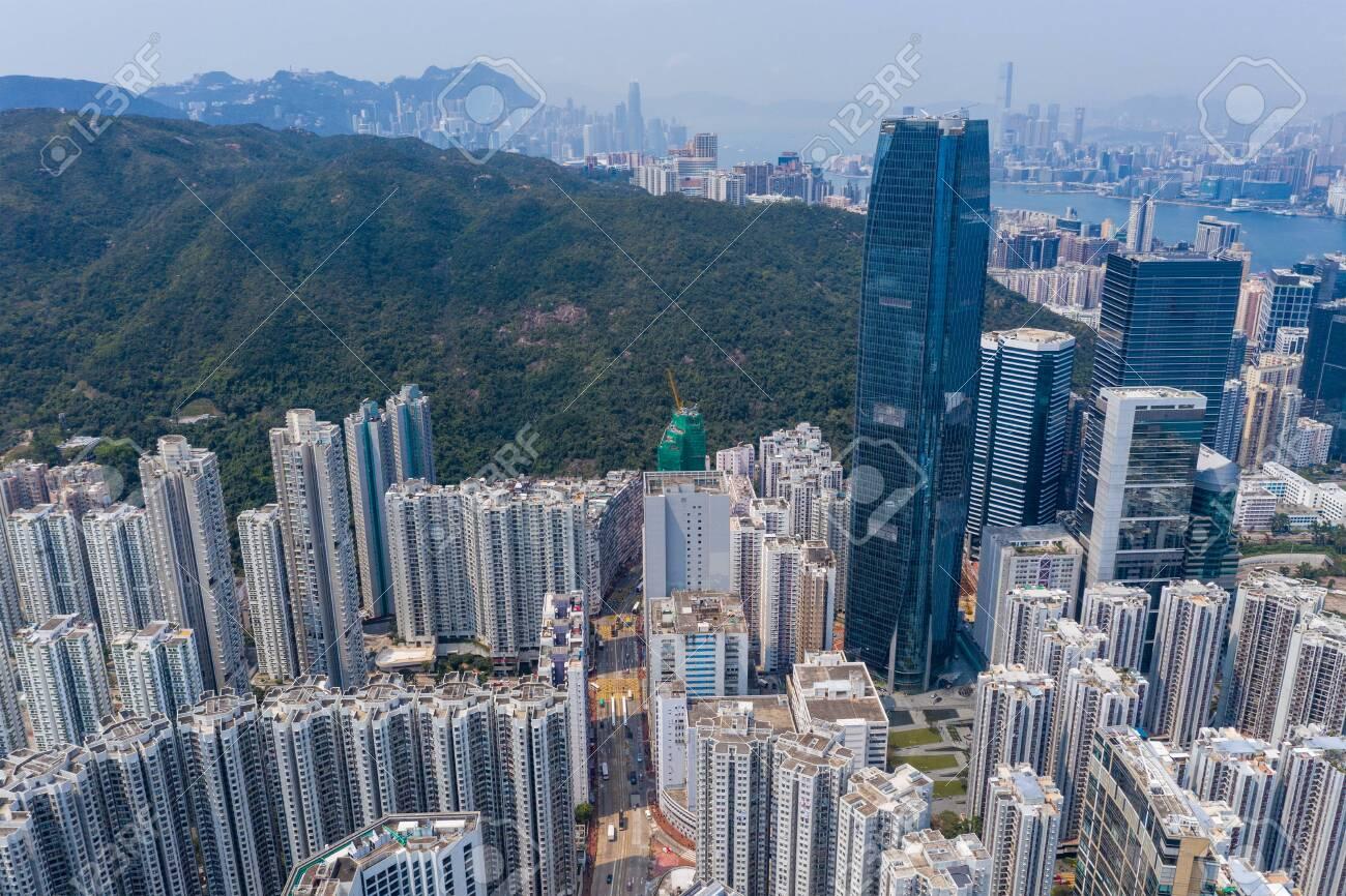 Hong Kong city landscape - 120467933