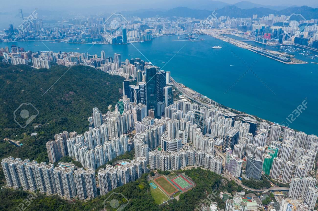 Hong Kong residential district - 120471108