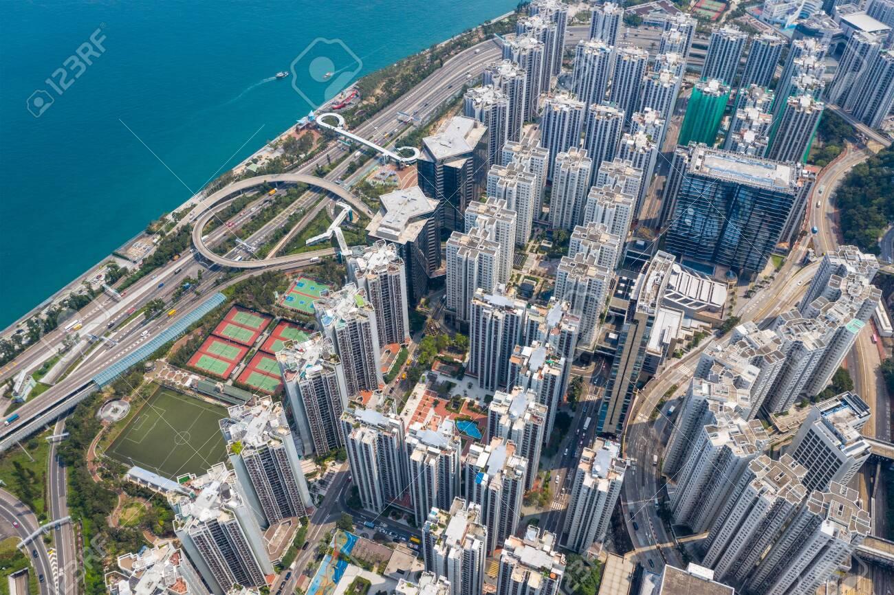 Tai Koo, Hong Kong 19 March 2019: Hong Kong city - 120473396