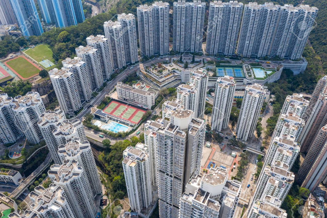 Hong Kong residential district - 120538314