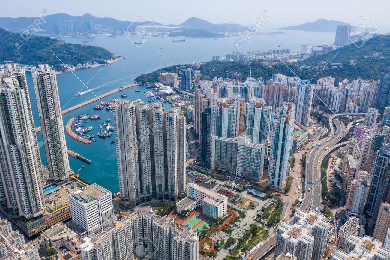 Shau kei wan, Hong Kong 19 March 2019: Hong Kong city - 120951557