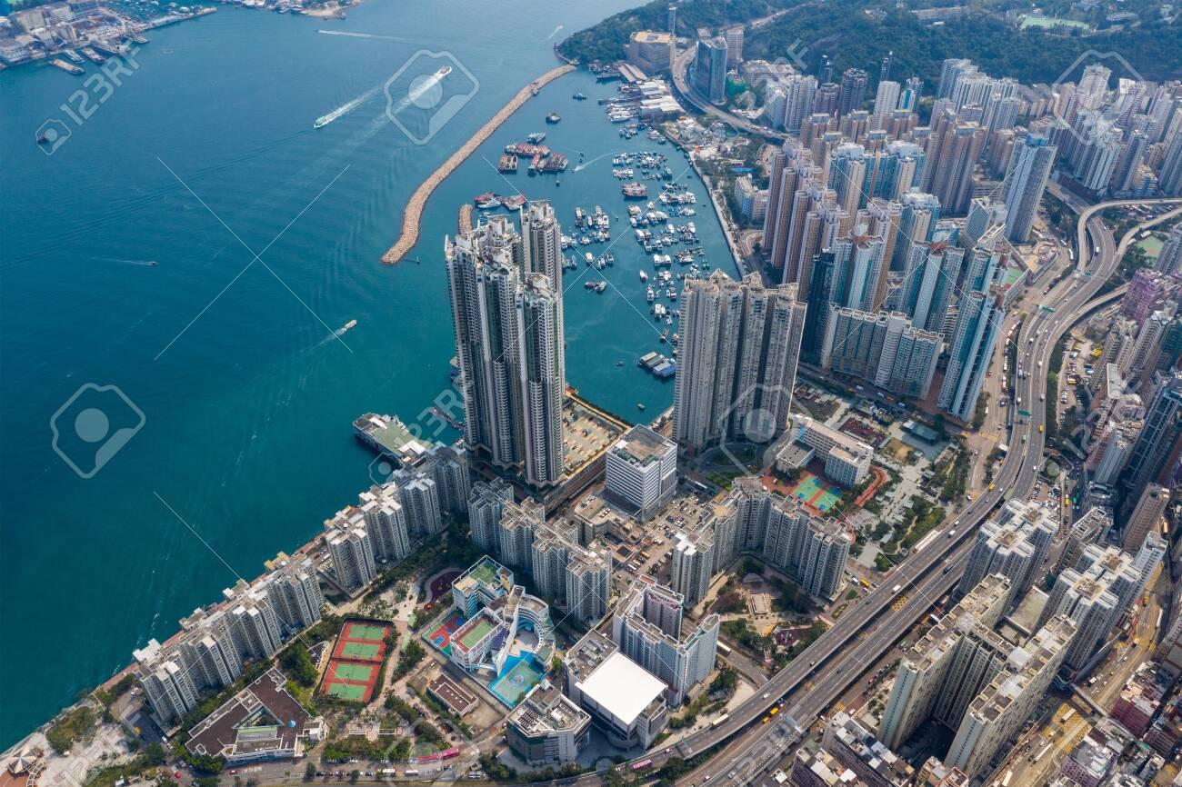Shau kei wan, Hong Kong 19 March 2019: Hong Kong city - 122179432