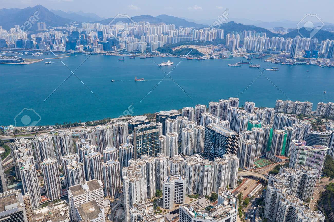 Tai Koo, Hong Kong 19 March 2019: Hong Kong city - 122181089