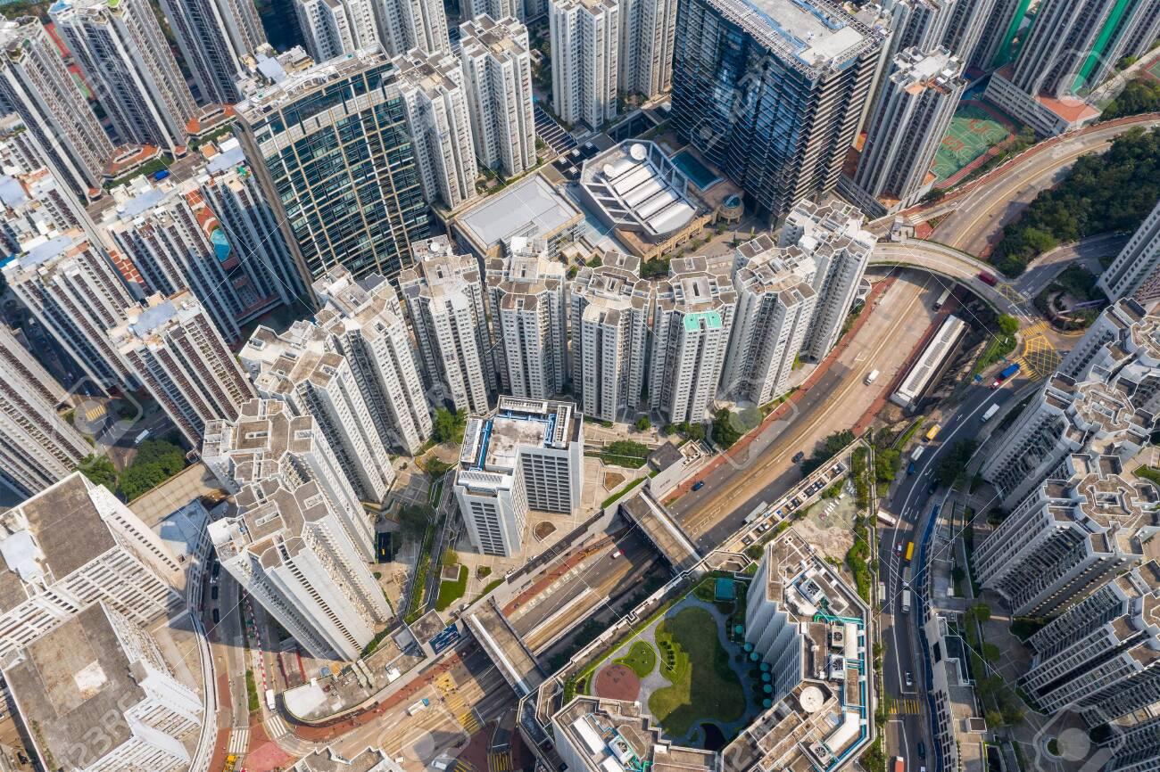 Tai Koo, Hong Kong 19 March 2019: Hong Kong city - 122192873