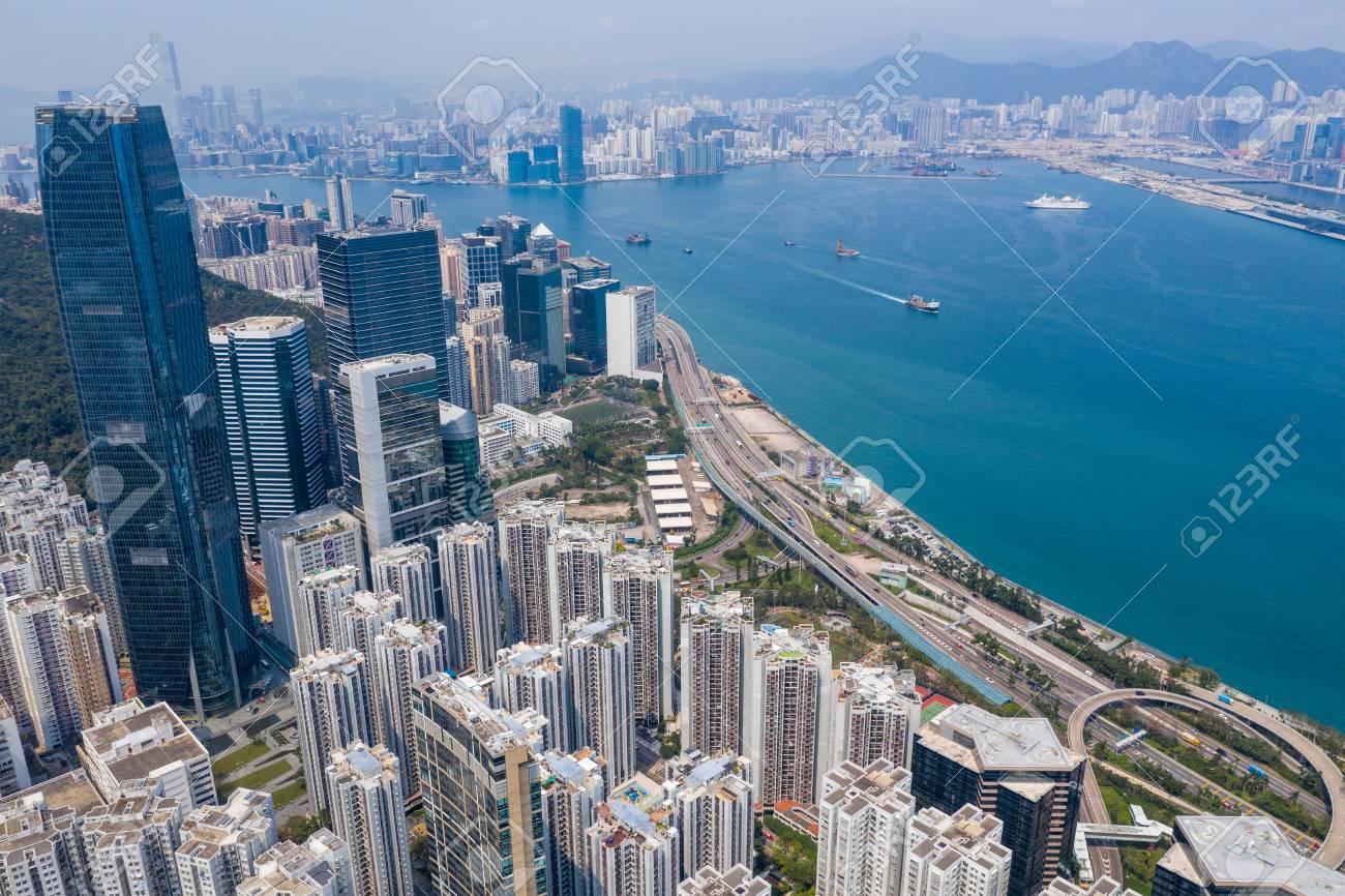 Quarry bay, Hong Kong 19 March 2019: Hong Kong city - 122208121