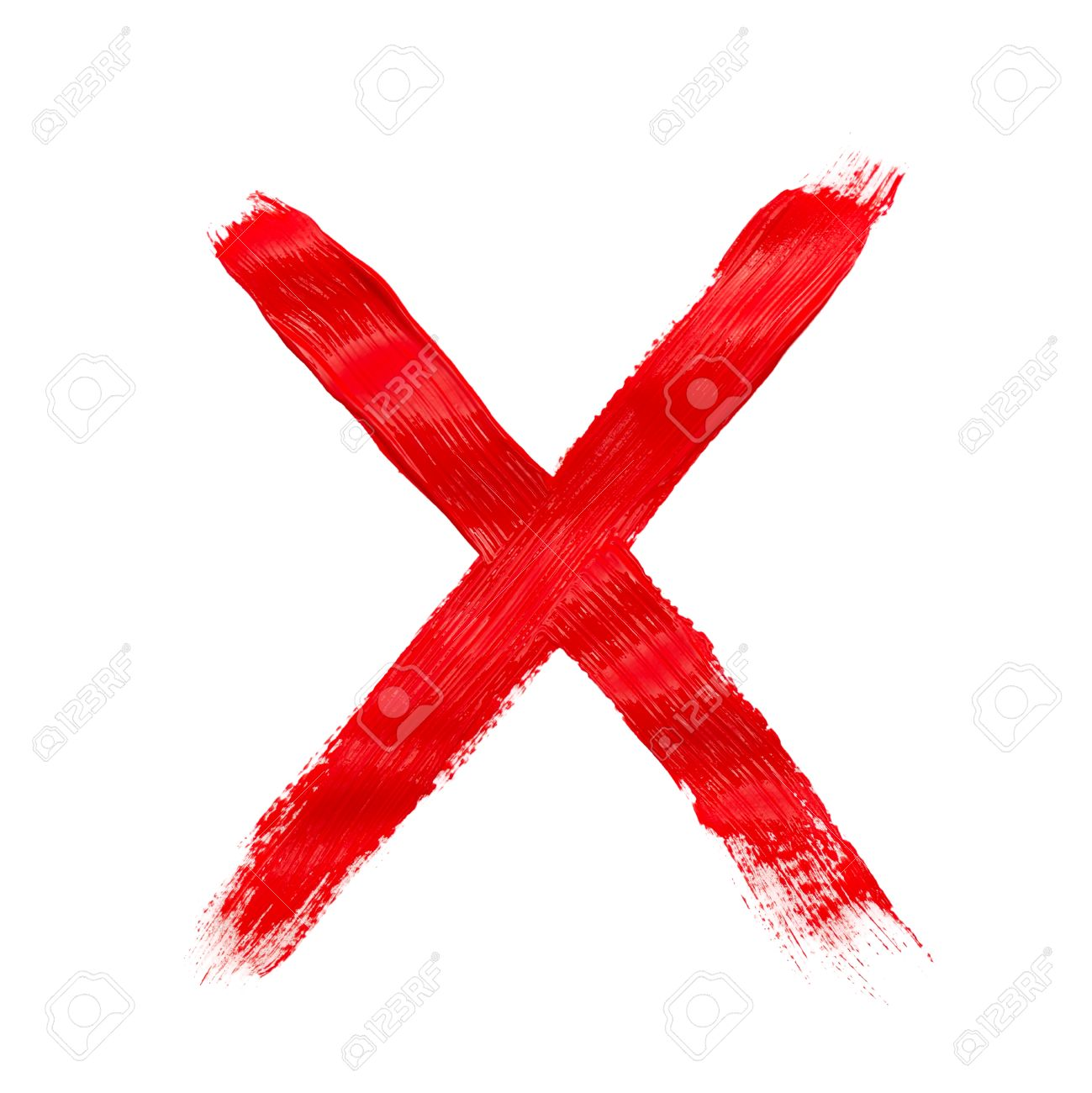 Painted x mark isolated on white stock photo picture and royalty painted x mark isolated on white stock photo 47713326 stopboris Choice Image