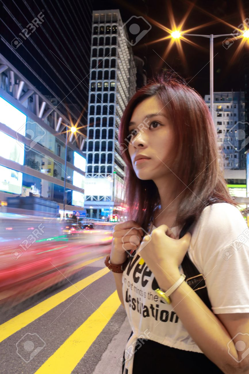 Beautiful Hong Kong Girl