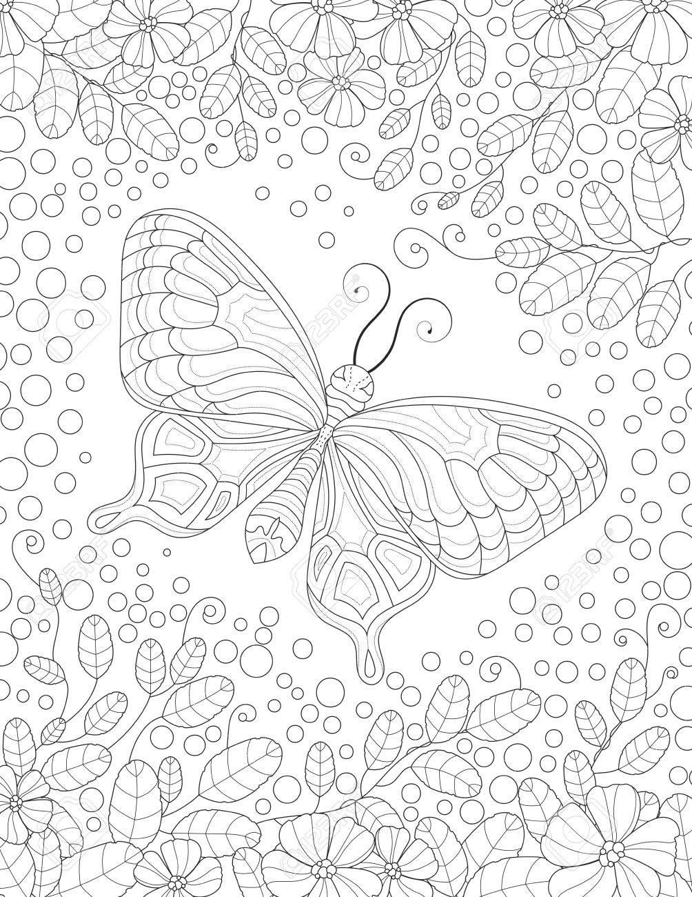 Wunderbar Druckbare Malvorlagen Von Schmetterlingen Bilder ...