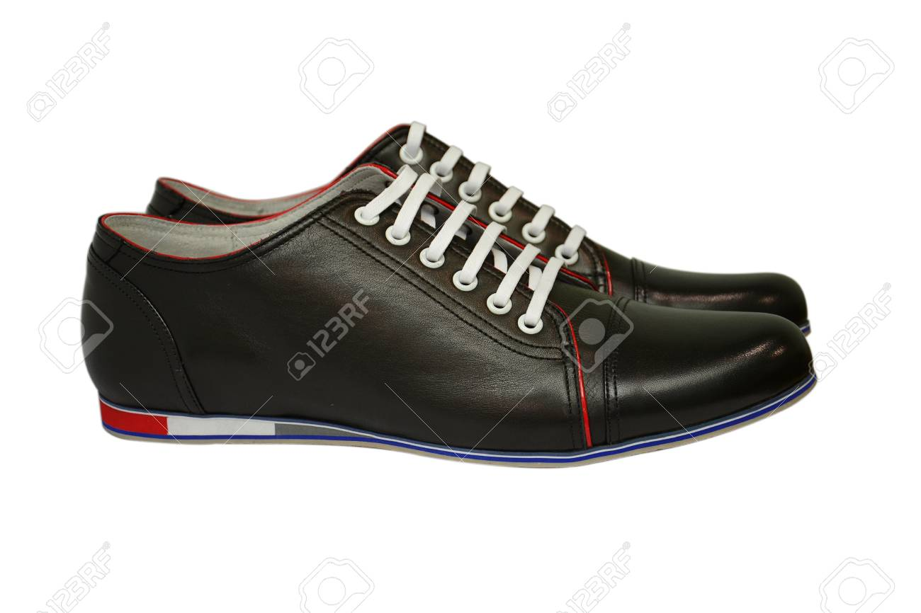 Man s shoes  on white background Stock Photo - 13566881