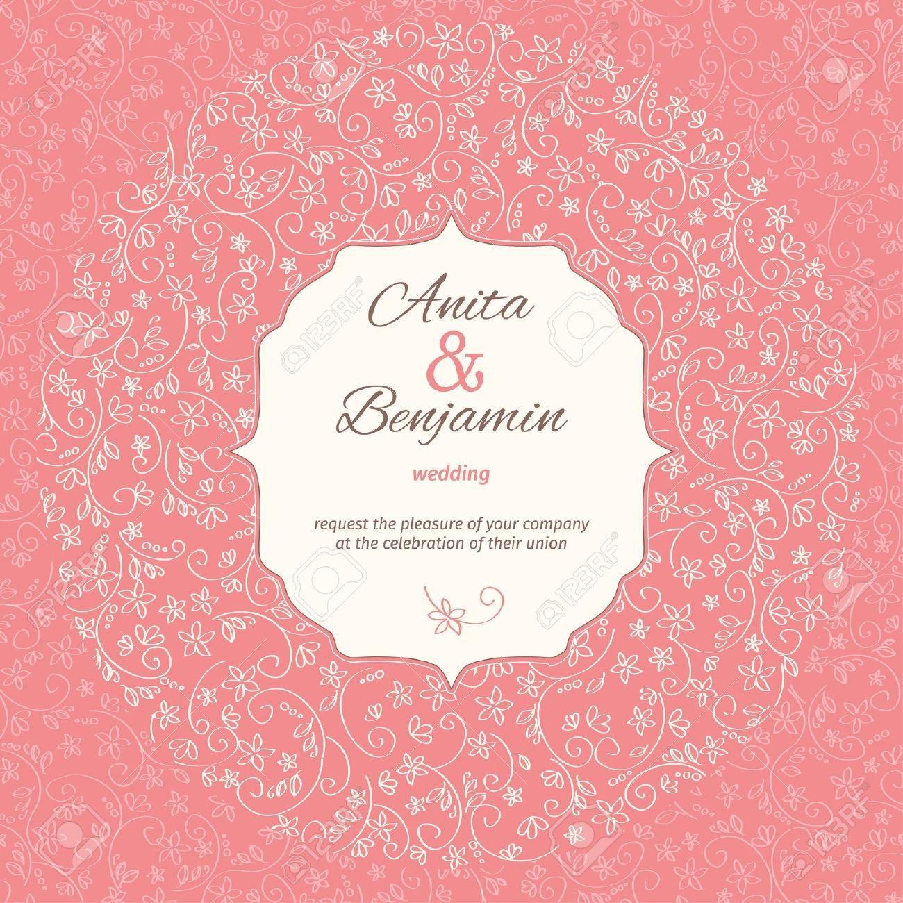 wedding invitation template - 29661190