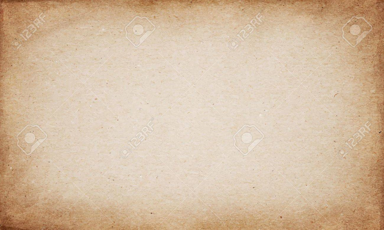 Realistic brown cardboard stained vector texture Stock Vector - 35701950