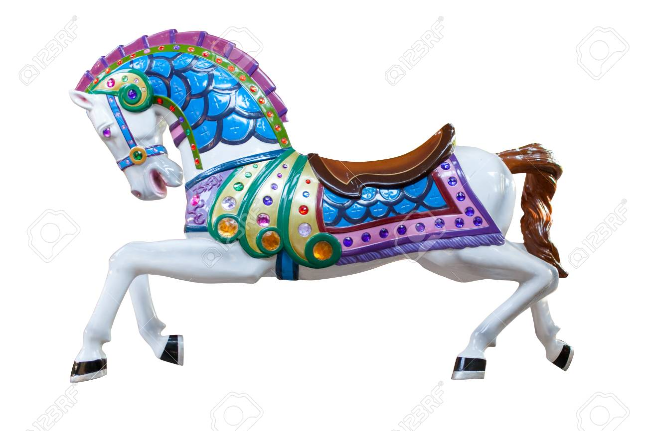 colorful horse statue - 63070341