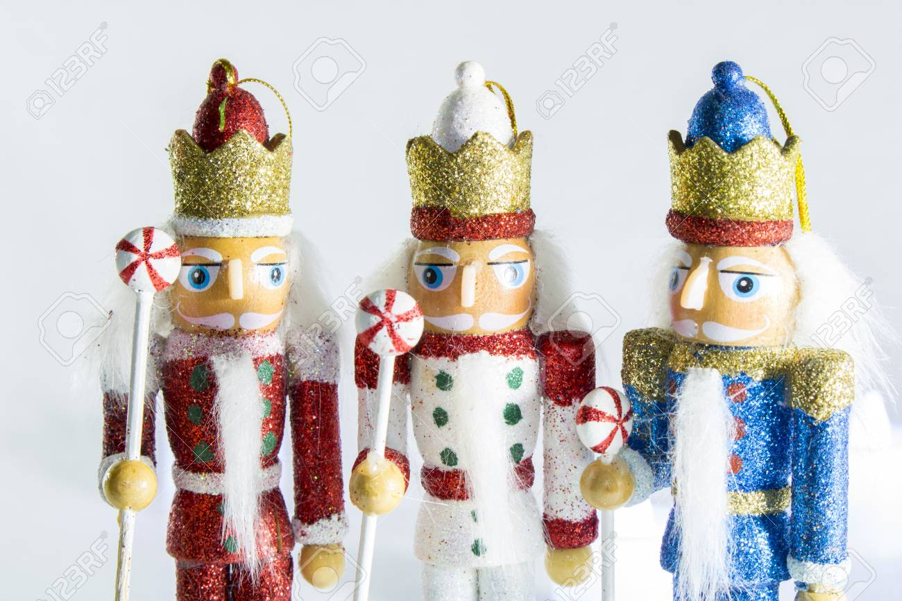 Nutcracker Christmas Crackers Stock Photo, Picture And Royalty Free ...