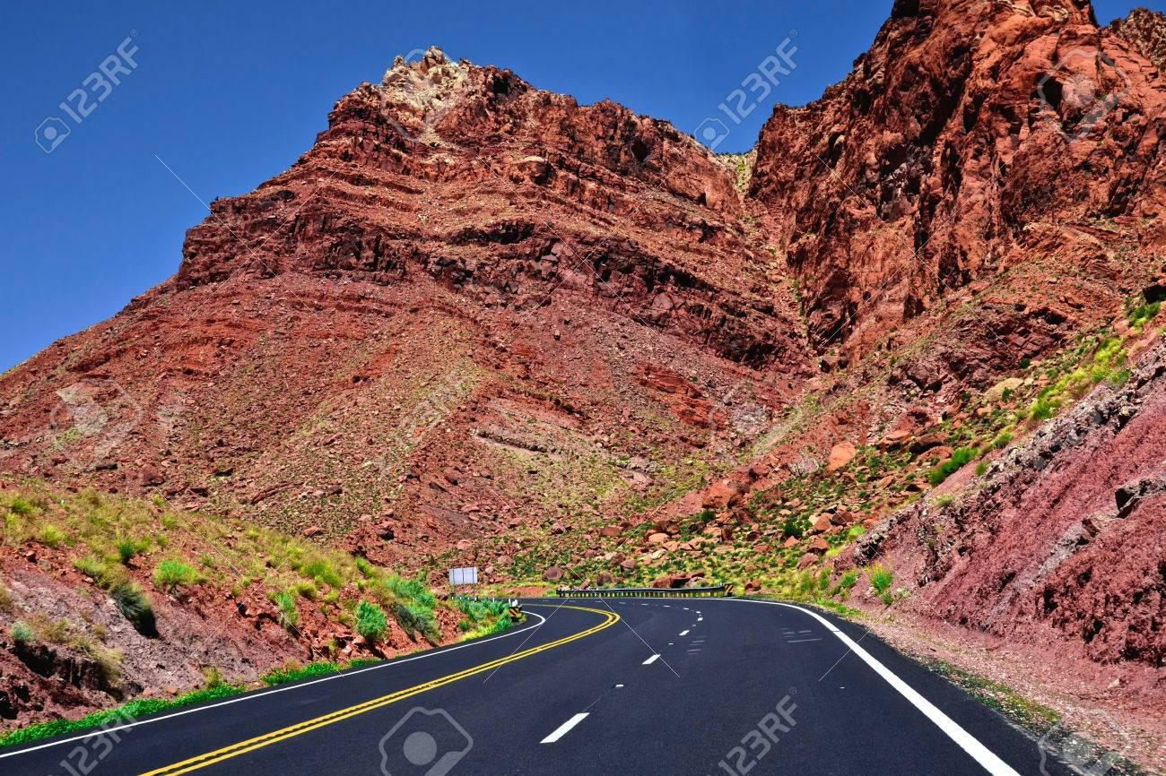 United States of America Arizona Desert Road - 55785121