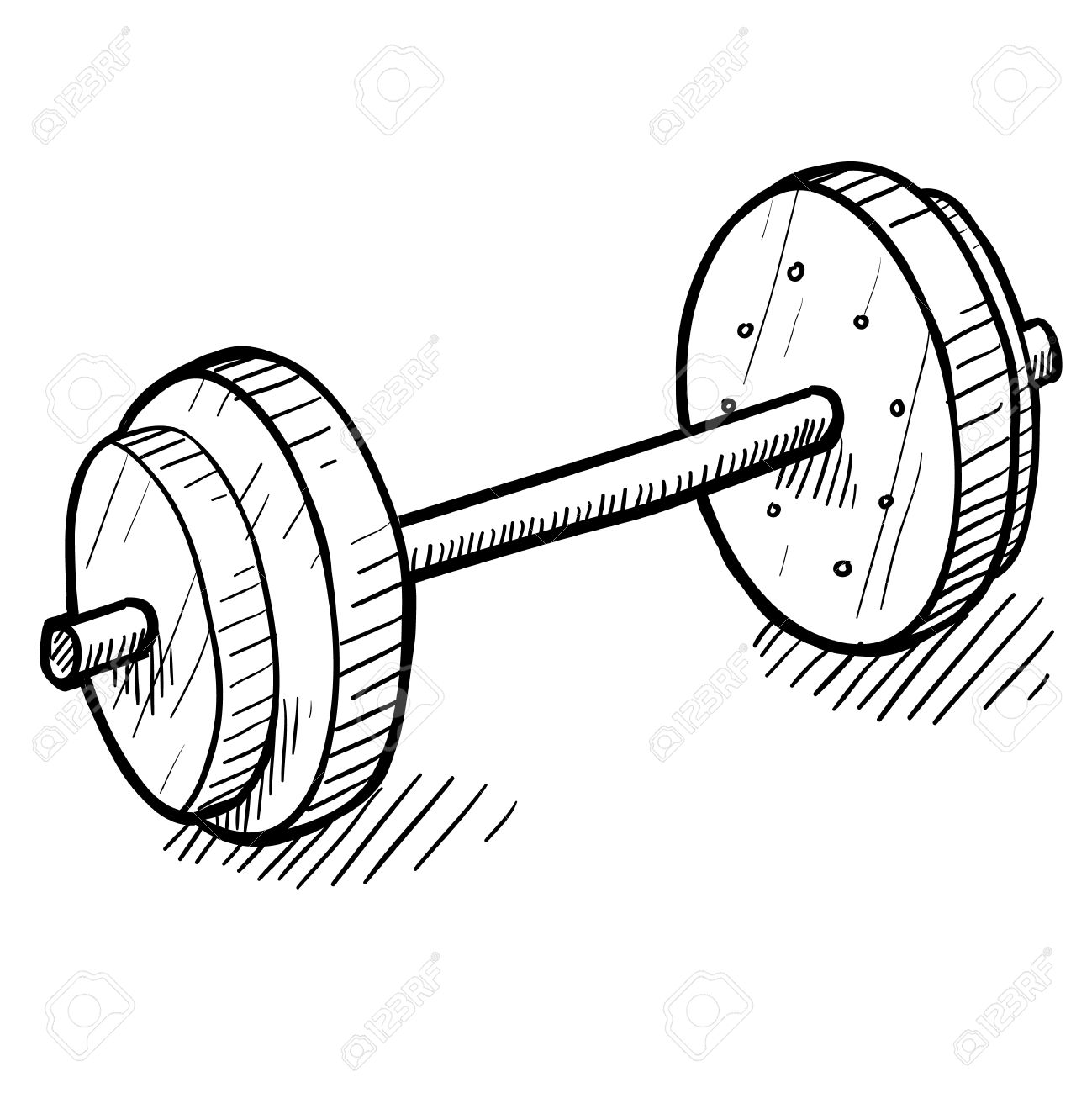 Image result for strength training doodle image