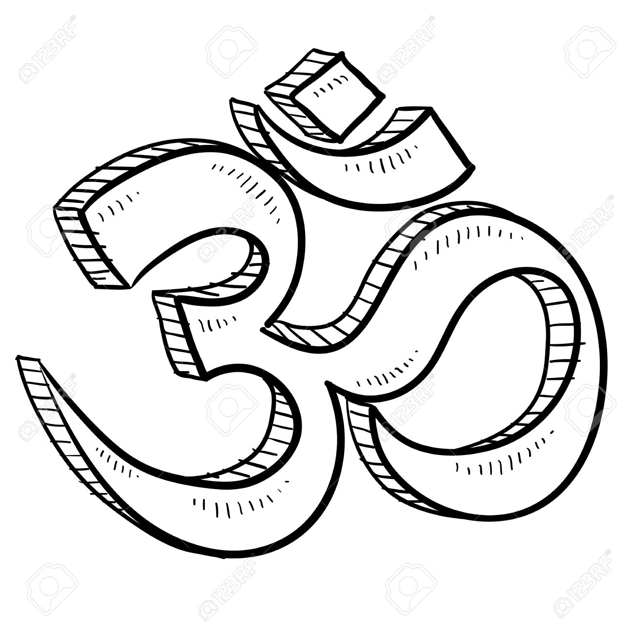 Doodle style hindu om or yoga symbol sketch in vector format royalty doodle style hindu om or yoga symbol sketch in vector format stock vector 14420434 biocorpaavc Choice Image