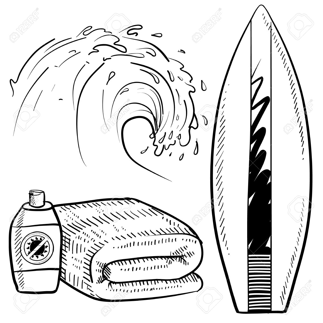 15 656 surfboards stock illustrations cliparts and royalty free