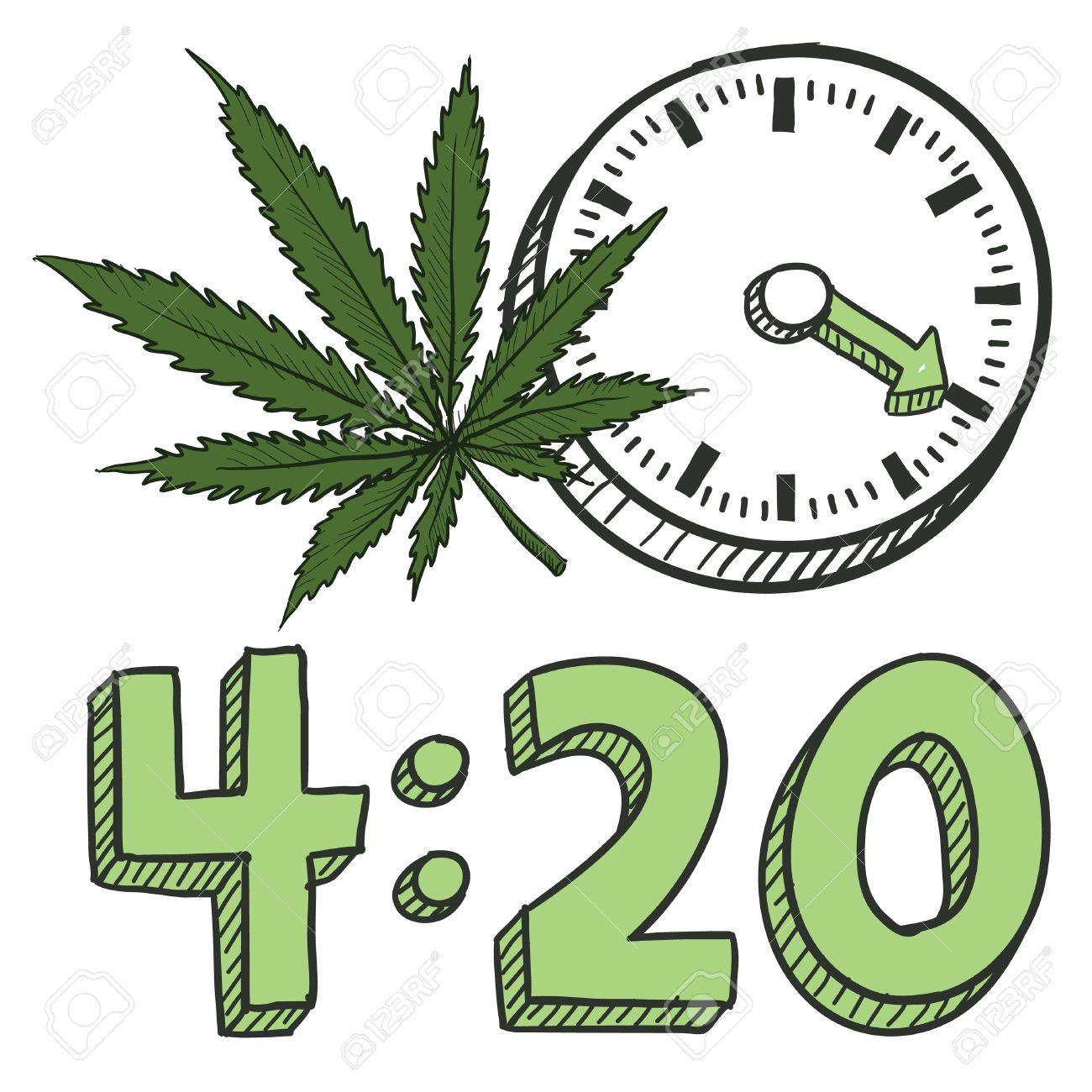 Doodle style 420 marijuana leaf sketch in vector format includes doodle style 420 marijuana leaf sketch in vector format includes pot plant text and biocorpaavc Choice Image