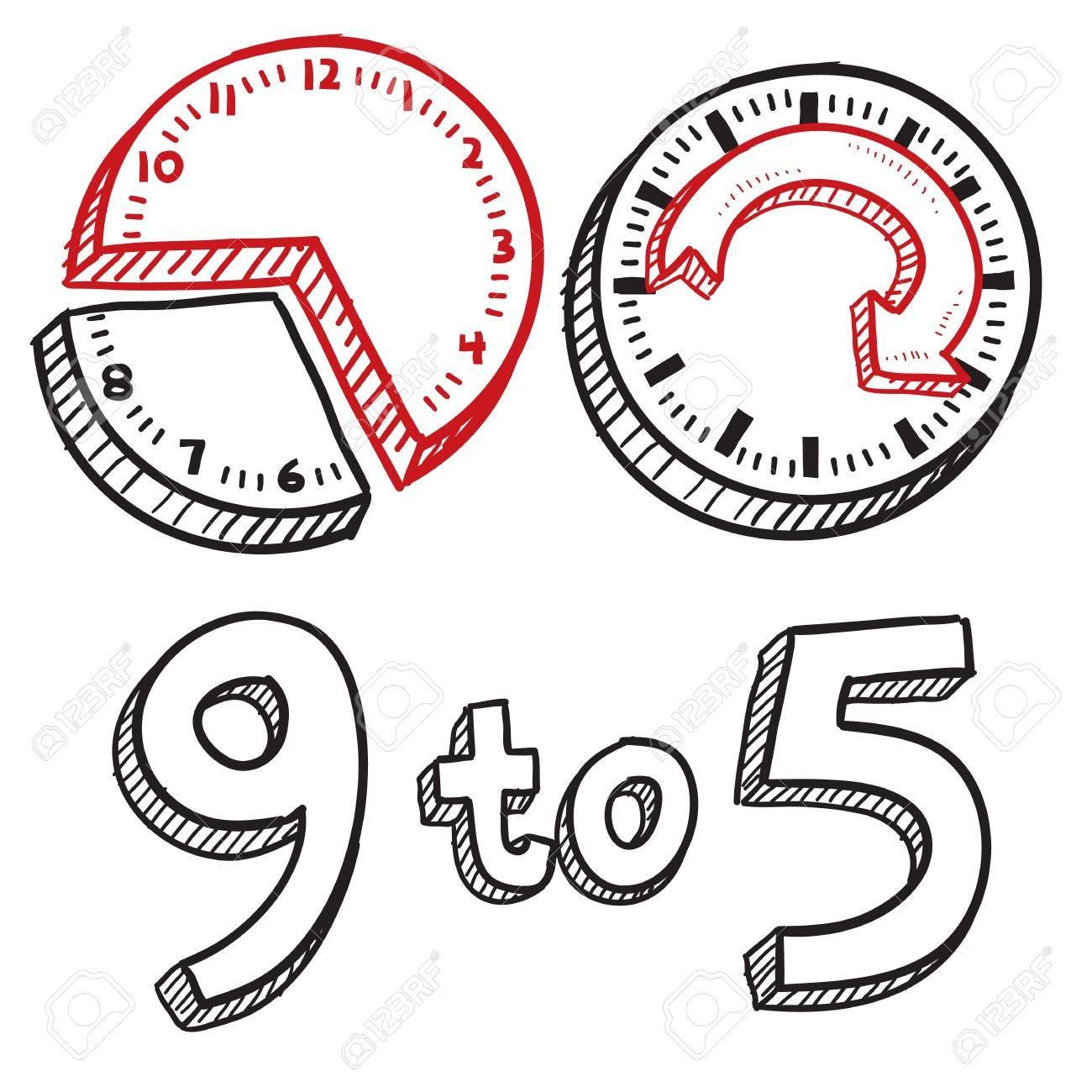 Image result for 9-5 job