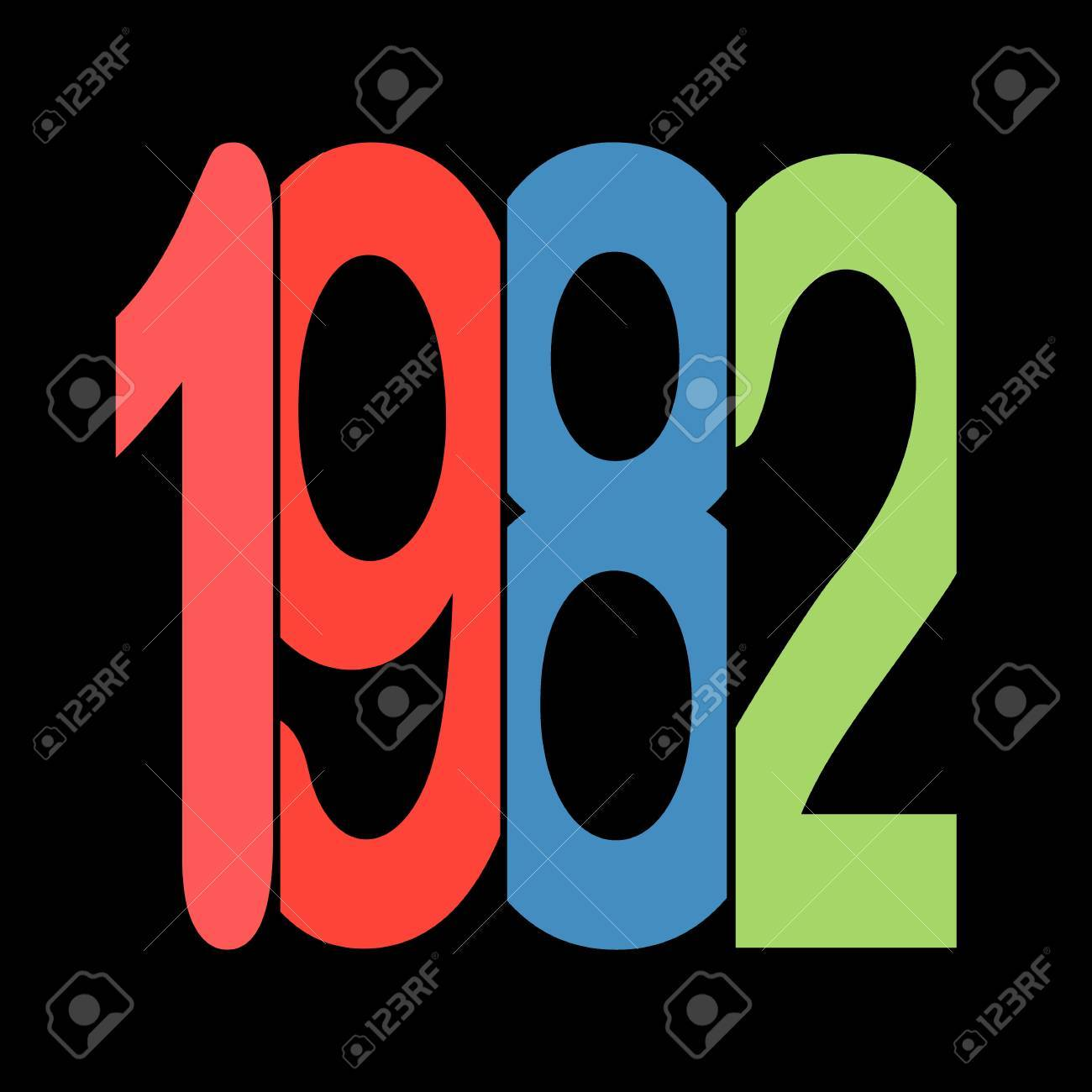 Year 1982 Stock Photo, Picture And Royalty Free Image. Image 85546722.