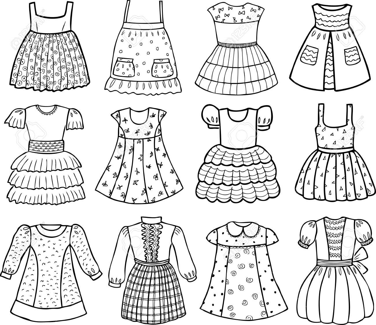 7b7add509 Estilos de varios vestidos para niñas