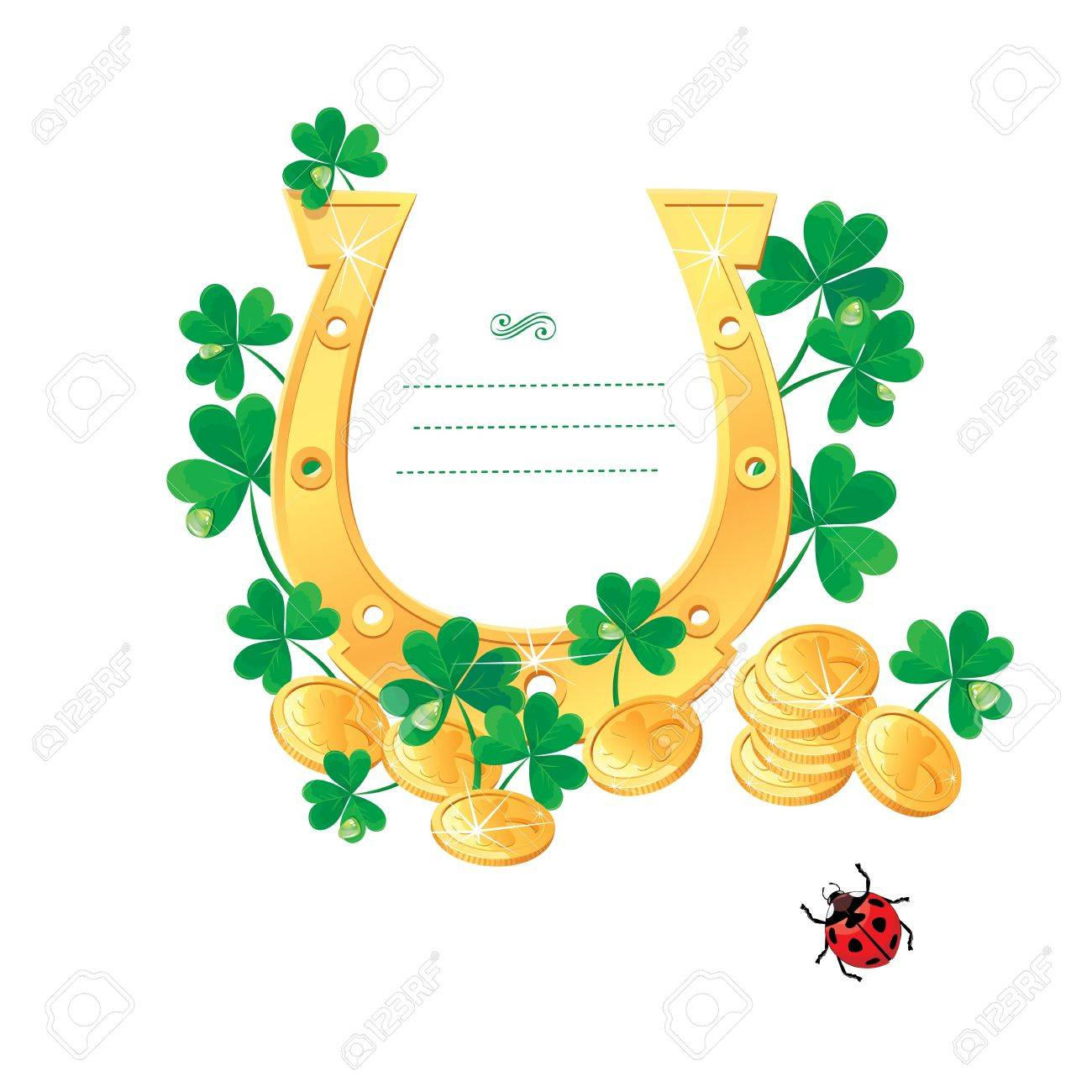Frame for Saint Patrick Stock Vector - 17850143