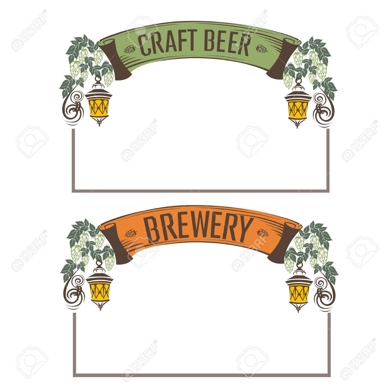 Vintage Beer Frame Royalty Free Cliparts, Vectors, And Stock ...